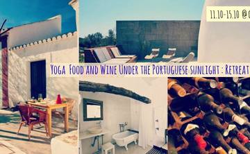 Yoga, Food and Wine in Castro Marim, Portugal