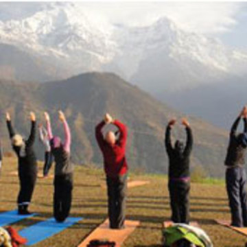 Yoga Teachers certification course & Retreats in the Himalayas, India