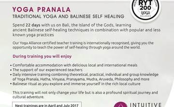 200 Hour Intensive Yoga Pranala Teacher Training