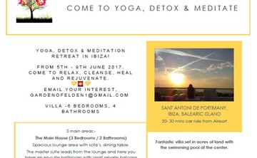 Garden of Elden - Yoga, Detox & Meditation Retreat in Ibiza