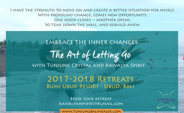 Embrace the Inner Changes - The Art of Letting Go July 7-Days Retreat