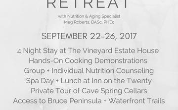 Nutrition + Wellness Retreat