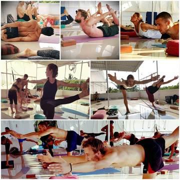 Abhinam Ashtanga Iyengar Yoga Center in Morjim Goa