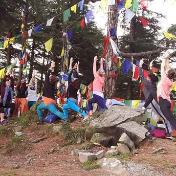 Abhinam Yoga Teacher Training Center in Dharamsala