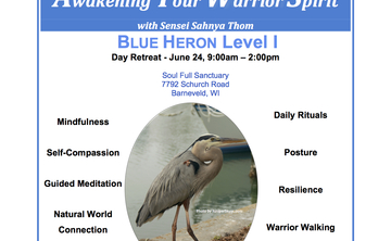 """Awaken Your Warrior Spirit"" Retreat"