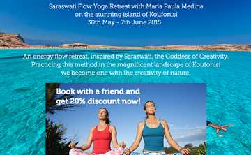 Creative Flow Yoga Retreat in the Greek Islands Special Offer!