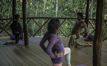 RYT-200 TTC Hands on Adjustments Hatha & Vinayasa Yoga Teacher Training in the High Peruvian Amazon Jungle!