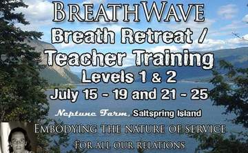 Breath Facilitators Training on Saltspring Island