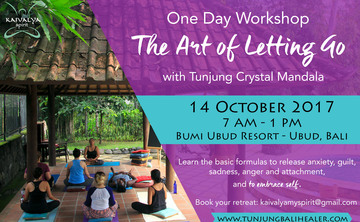 The Art of Letting Go - October 1-Day Workshop