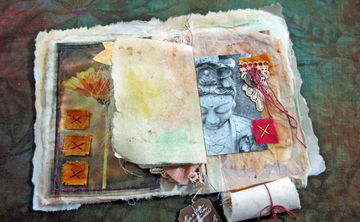 Textile Workshop with Artist Linda Matthews Santorini,Greece