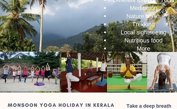 Monsoon Yoga Retreat In Kerala