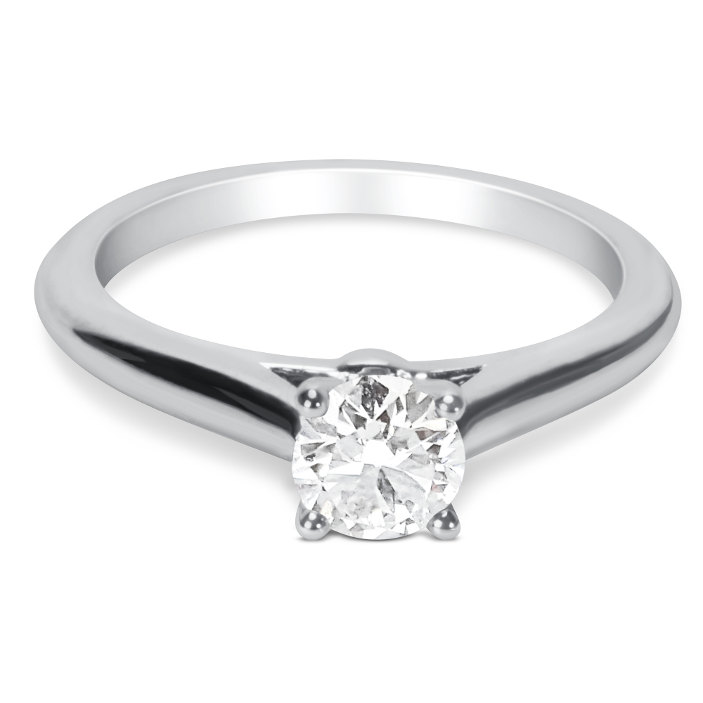 cartier wedding rings brand new cartier solitaire engagement ring in 30531