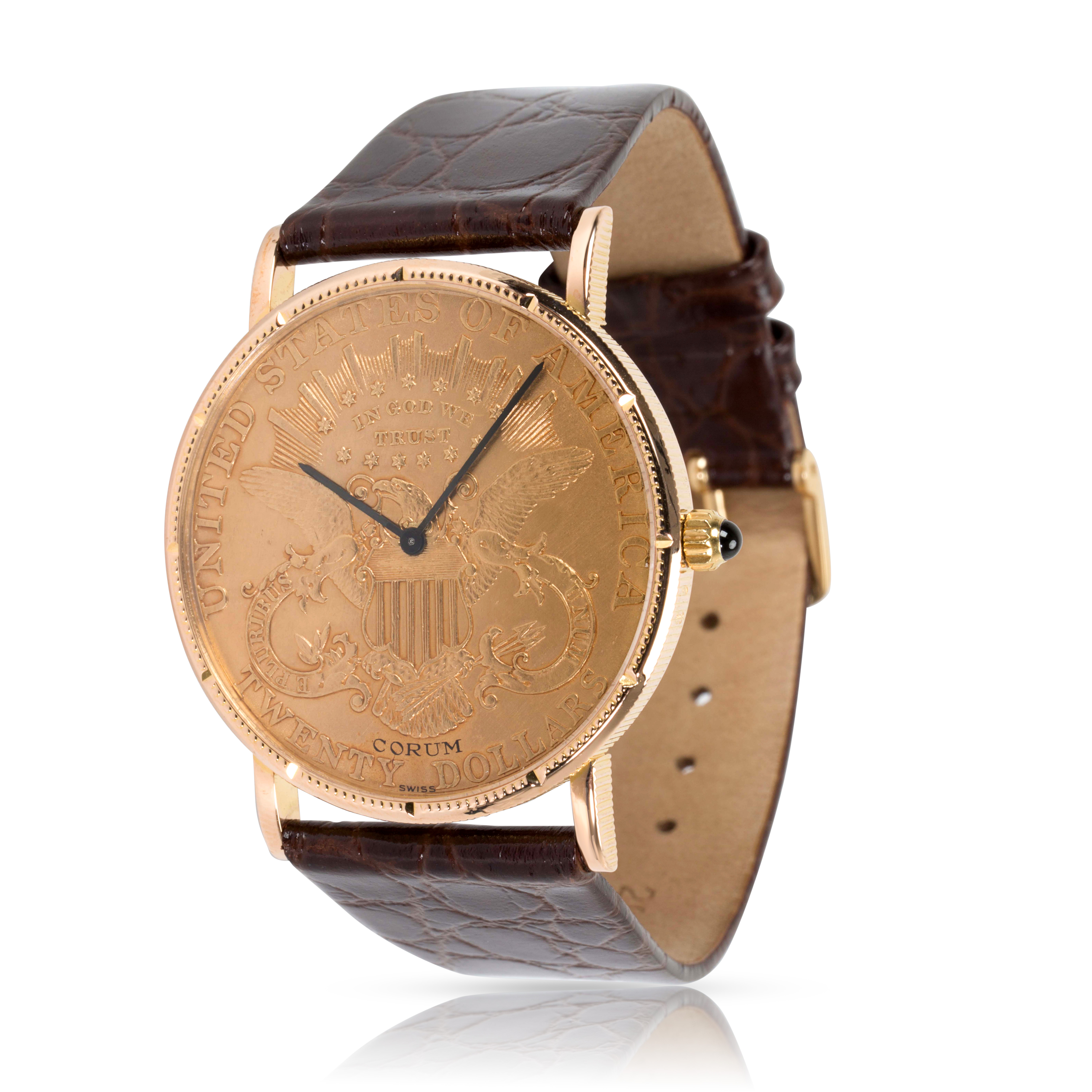 db62356f57212 Image is loading Corum-20-Coin-4414556-Men-039-s-Watch-