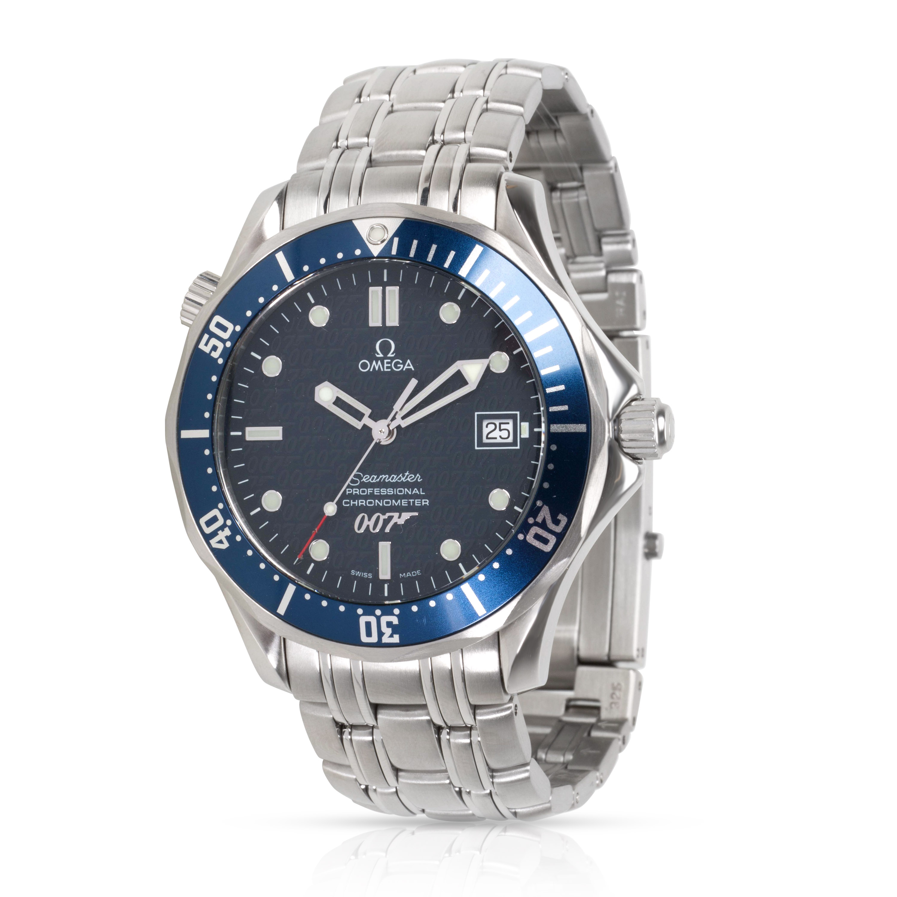 700d71a85b7 Omega Seamaster 300M James Bond 2537.80.00 Men s Watch in Stainless ...