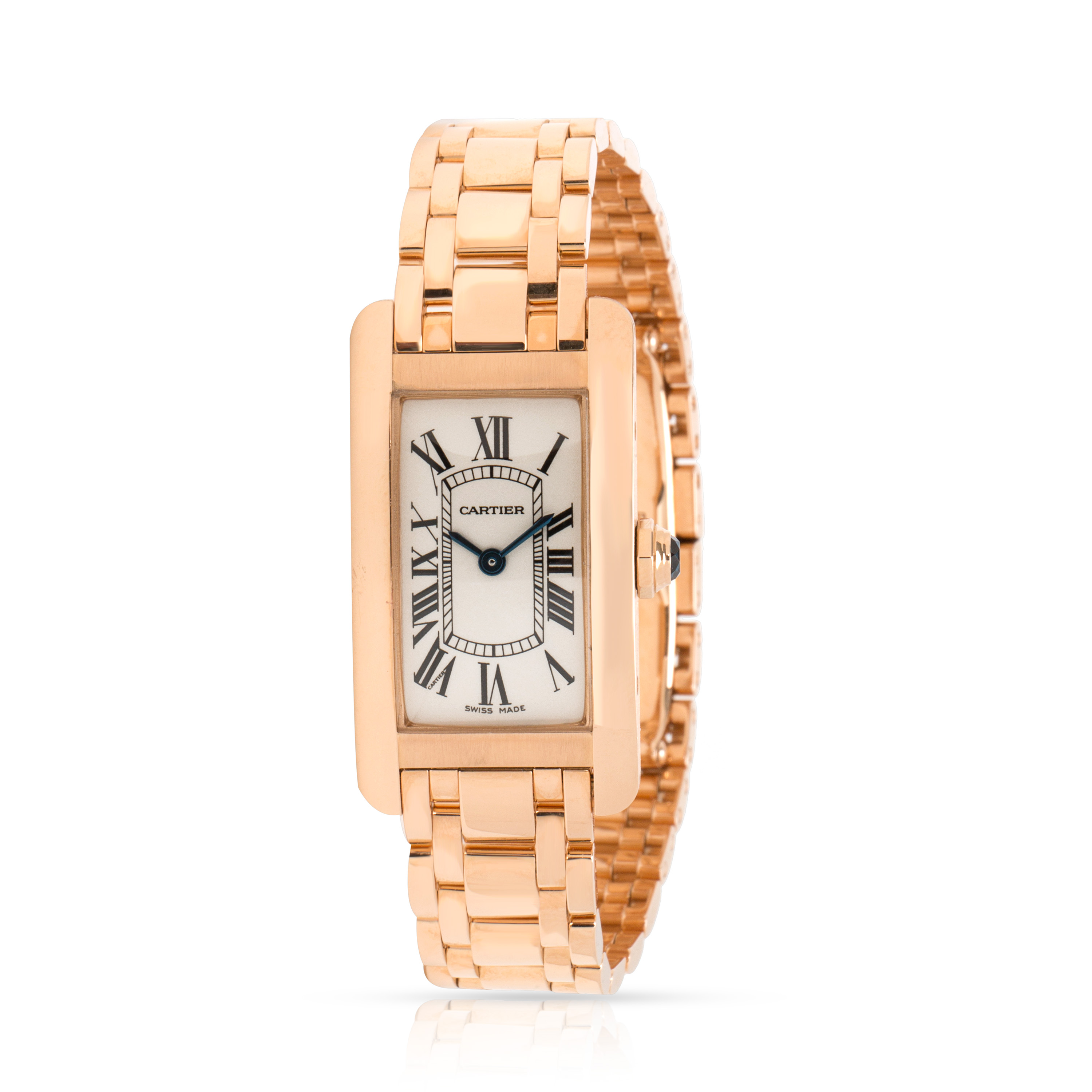 a6cc47f0d6bb Image is loading Cartier-Tank-Americaine-2503-Women-039-s-Watch-
