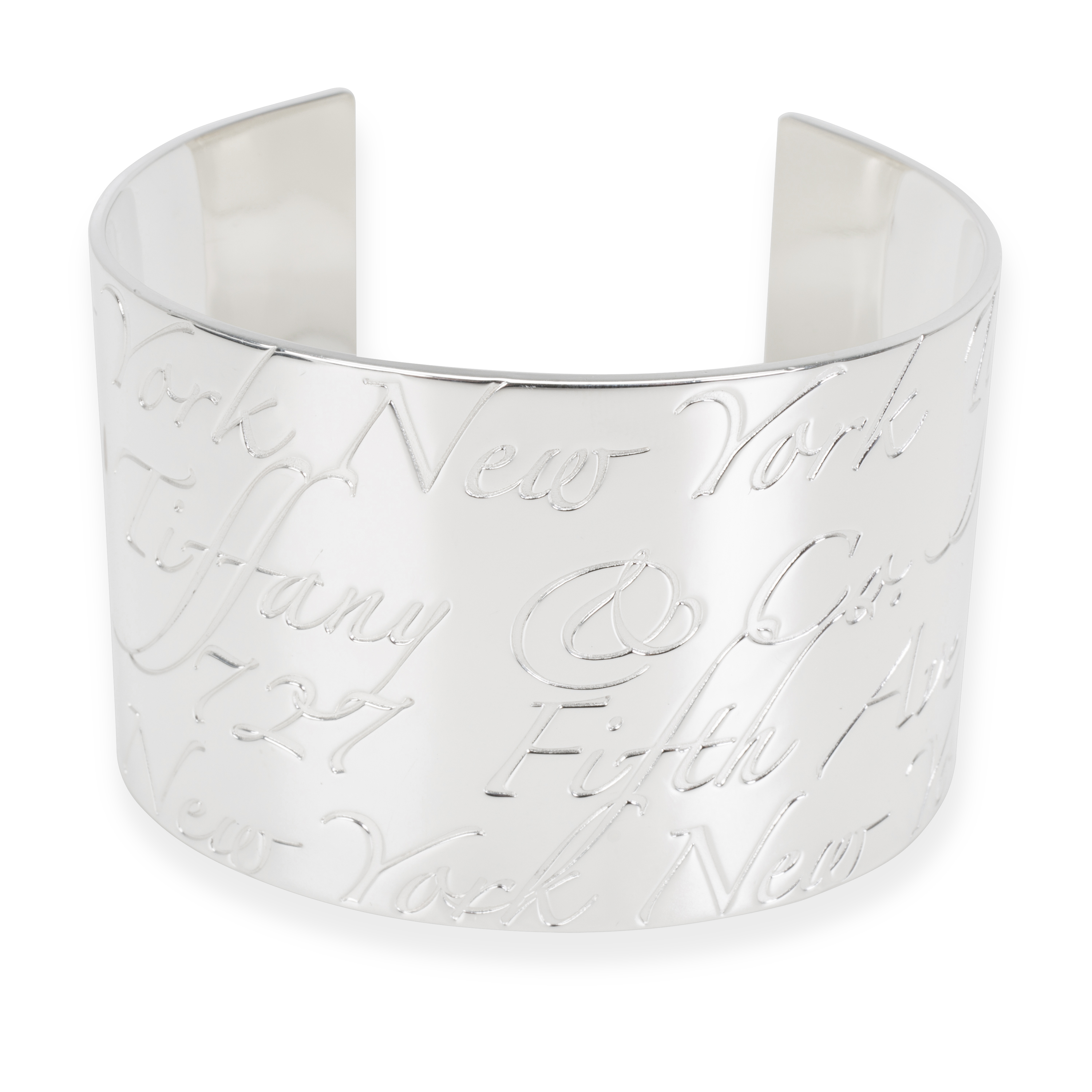 aa1f17a35df Tiffany   Co. Notes Cuff in Sterling Silver