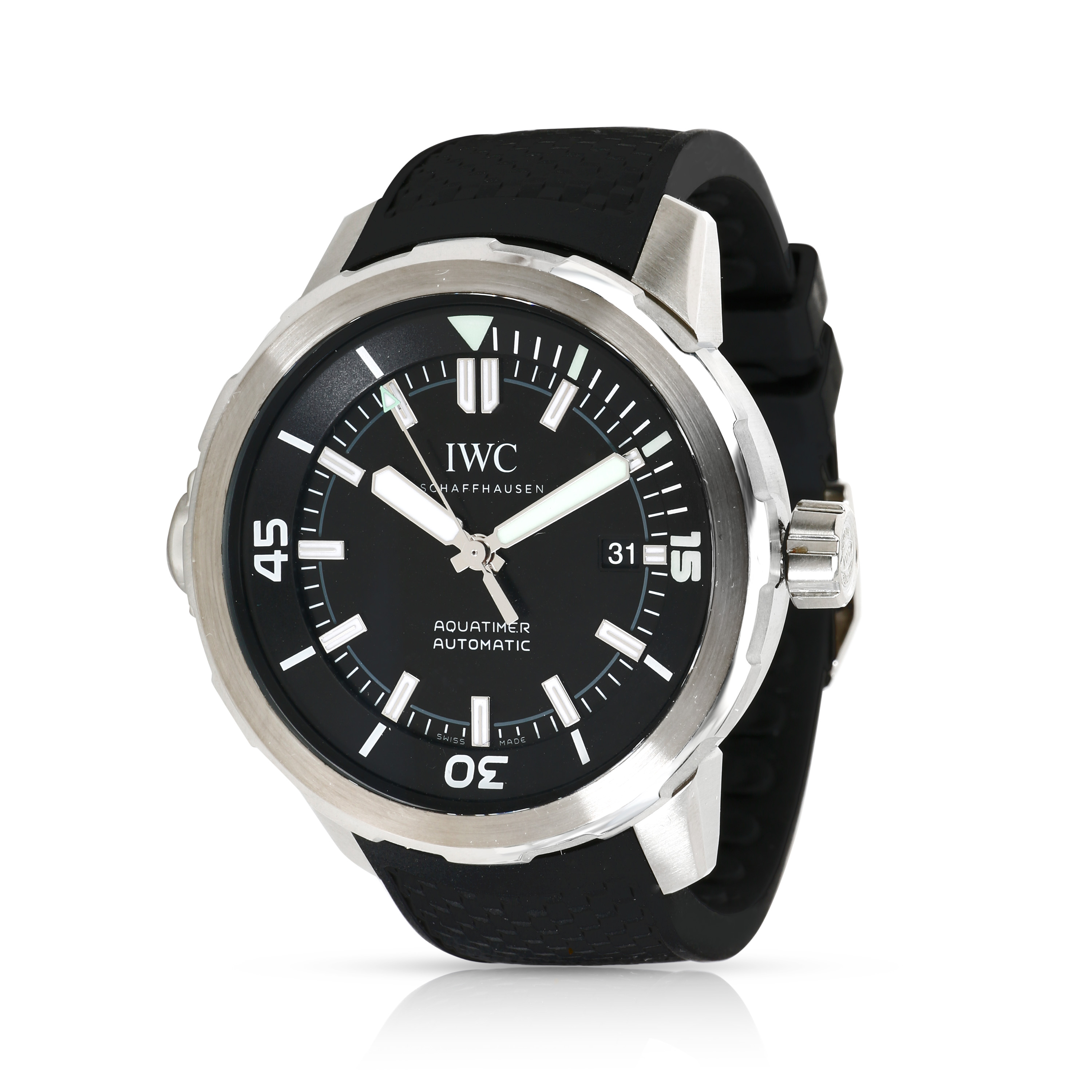 99781afd88cb IWC Aquatimer IW329001 Men  039 s Watch in Stainless Steel
