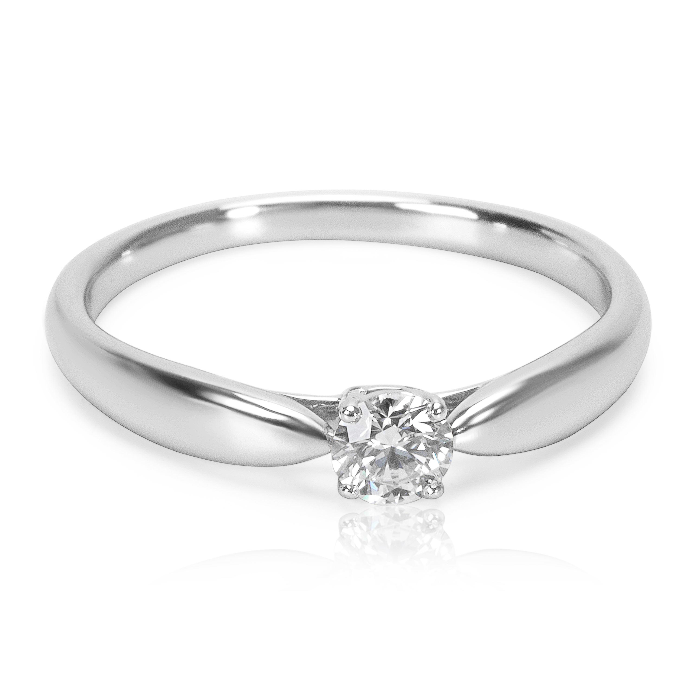 73b6b989d Tiffany & Co. Harmony Diamond Engagement Ring in Platinum E VS1 0.18 ...