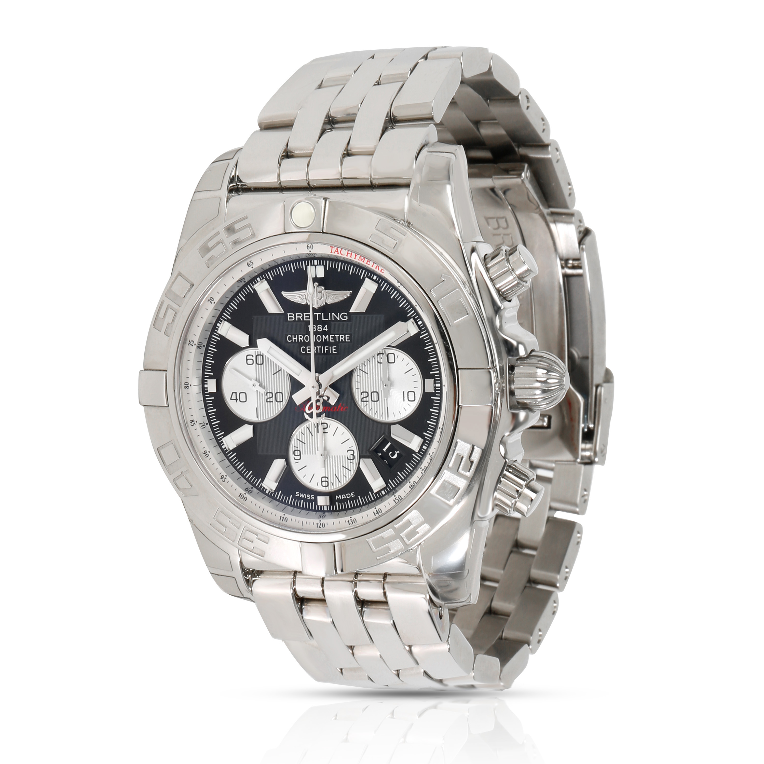on sale 4d690 d9015 Details about Unworn Breitling Chronomat 44 AB011012/B967 Men's Watch in  Stainless Steel