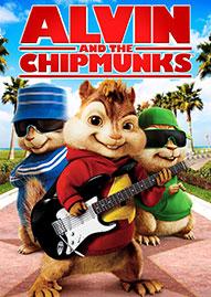 Alvin And The Chipmunks Disney movie cover