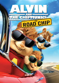 Alvin And The Chipmunks: The Road Chip Disney movie cover