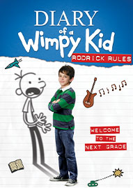Diary Of A Wimpy Kid: Rodrick Rules Disney movie cover