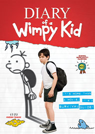 Diary Of A Wimpy Kid Disney movie cover