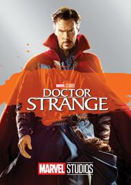 Marvel's Doctor Strange Disney movie cover