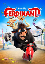 Ferdinand Disney movie cover