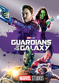 Guardians Of The Galaxy Disney movie cover