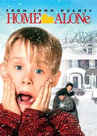 Home Alone Disney movie cover