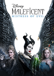 Maleficent: Mistress Of Evil Disney movie cover
