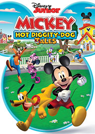 Mickey: Hot Diggity-Dog Tales Disney movie cover