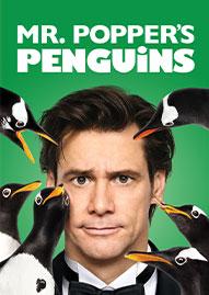Mr. Popper's Penguins Disney movie cover