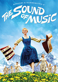 The Sound Of Music Disney movie cover