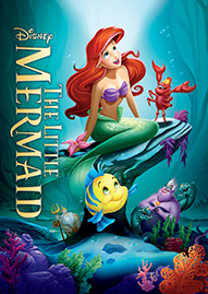 The Little Mermaid Disney movie cover