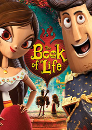 The Book Of Life Disney movie cover