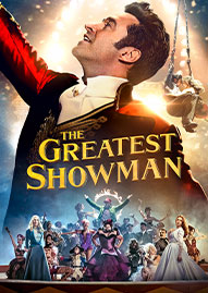 The Greatest Showman Disney movie cover