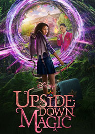 Disney Upside Down Magic Disney movie cover