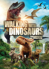 Walking With Dinosaurs Disney movie cover
