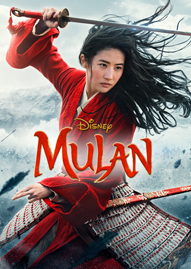 Mulan (2020) Disney movie cover