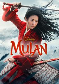 Mulan (2020) Disney movie cover
