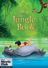 The Jungle Book Disney movie cover