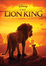 The Lion King (2019) Disney movie cover