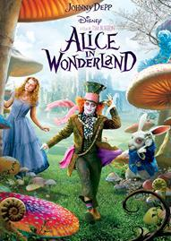 Alice In Wonderland Disney movie cover