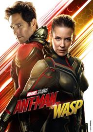 Ant-Man And The Wasp Disney movie cover