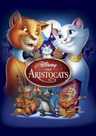 The Aristocats Disney movie cover