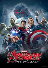Marvel's The Avengers: Age Of Ultron Disney movie cover