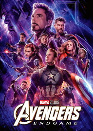 Avengers: Endgame Disney movie cover