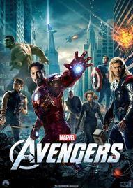 Marvel's The Avengers Disney movie cover